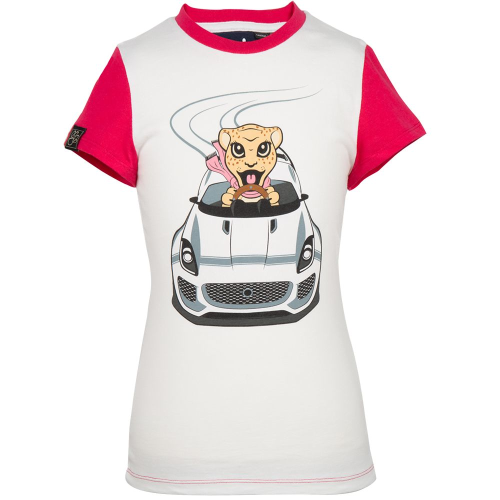 Girls' Jaguar Car Graphic T- Shirt