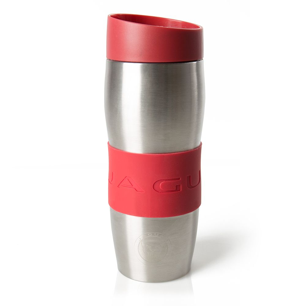 Travel mug Stainless Steel - Red
