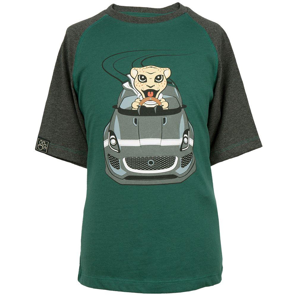 Boys' Jaguar Car Graphic T- Shirt