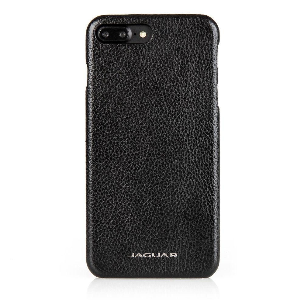 Leather iPhone 8+ Case - Black