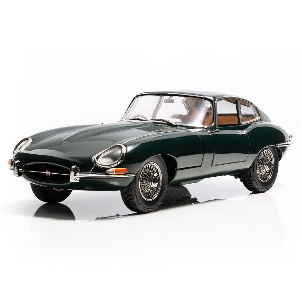 E-type 1:18 scale model - British Racing Green