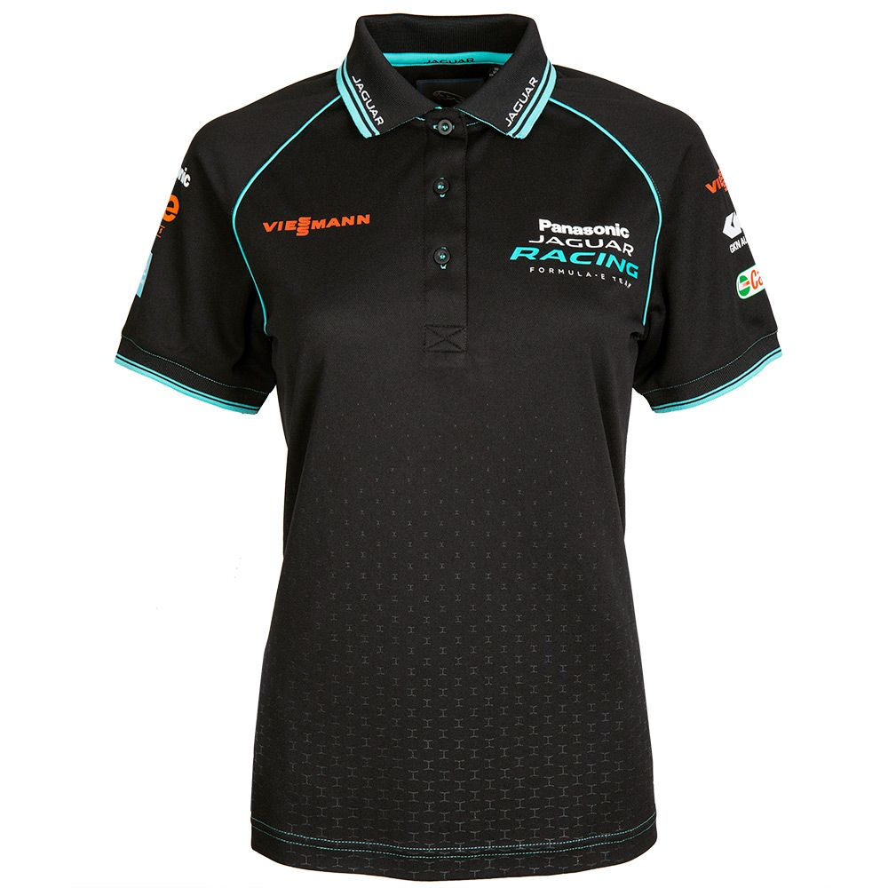 Women's Panasonic Jaguar Racing Polo Shirt