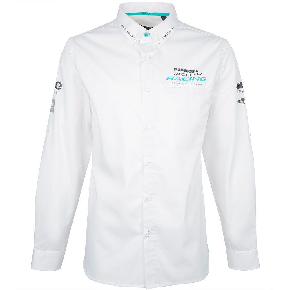 2019 Panasonic Jaguar Racing Men's Paddock Shirt