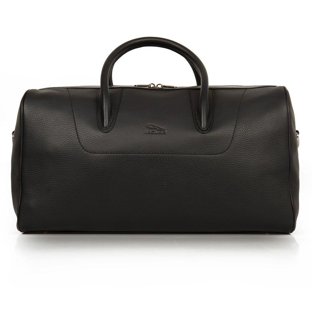 Leather Weekend Bag - Black